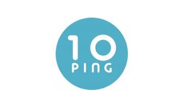 전자계약 마케팅 플랫폼 텐핑 로고