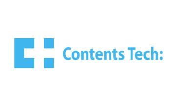 전자계약 솔루션 / ERP / CRM 콘텐츠테크 로고