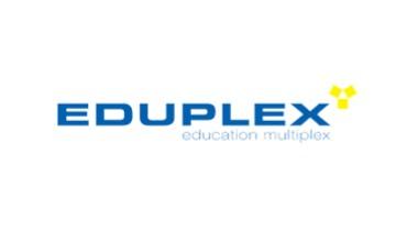 전자계약 교육 에듀플렉스 로고