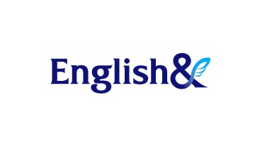 전자계약 어학 교육 잉글리쉬앤 로고