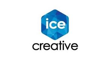 전자계약 뷰티 MCN 아이스크리에이티브 로고