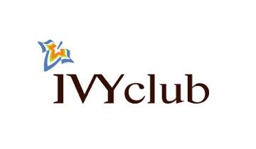 전자계약 학생복 제조 아이비클럽 로고
