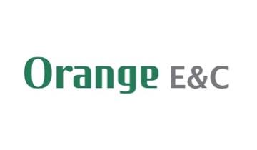 전자계약 건축 / 건설 오렌지이앤씨 로고