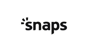 전자계약 포토북 서비스 스냅스 로고